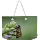 Busy Bee Weekender Tote Bag by Andrea Silies