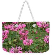 Bee Balm Beauties Weekender Tote Bag
