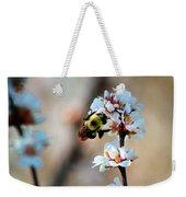 Bee Blossom Weekender Tote Bag