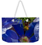 Bee Blues Weekender Tote Bag