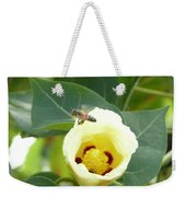 Bee Chowtime Weekender Tote Bag