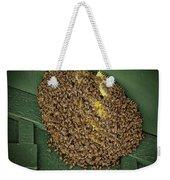 Bee Cluster Weekender Tote Bag