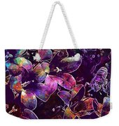 Bee Insect Close Macro Flower  Weekender Tote Bag