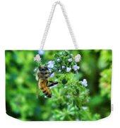 Bee Is In The Oregano Weekender Tote Bag