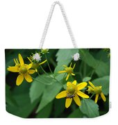 Bee On A Flower Weekender Tote Bag