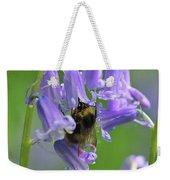 Bee On Bluebell Weekender Tote Bag