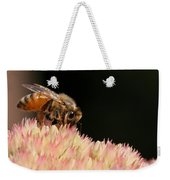 Bee On Flower 2 Weekender Tote Bag
