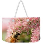 Bee On Flower 3 Weekender Tote Bag
