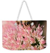 Bee On Flower 4 Weekender Tote Bag