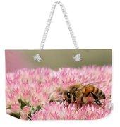 Bee On Flower 5 Weekender Tote Bag
