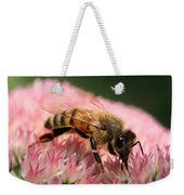 Bee On Flower 6 Weekender Tote Bag