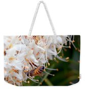 Bee On Flowers 1 Weekender Tote Bag