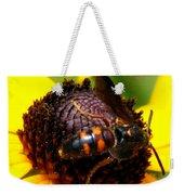 Bee On Lazy Susan 4 Weekender Tote Bag