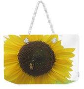 Bee On Sunflower Weekender Tote Bag