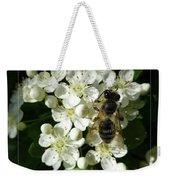 Bee On White Flowers 2 Weekender Tote Bag