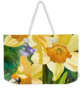 Bee Open By Marilyn Nolan-johnson Weekender Tote Bag