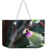 Bee Pollination Weekender Tote Bag