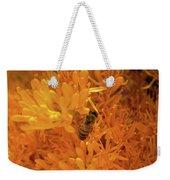 Bee Positive Weekender Tote Bag