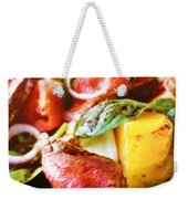 Beef And Onions Weekender Tote Bag