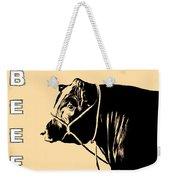 Beef Poster Weekender Tote Bag