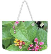 Beeing Amongst The Flowers Weekender Tote Bag