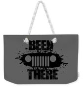 Been There In A Jeep Weekender Tote Bag