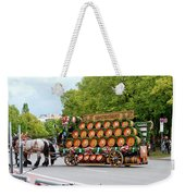 Beer Barrels On Cart Weekender Tote Bag