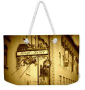 Beer Cellar In Salzburg Weekender Tote Bag