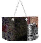 Beer Keggs And Graffiti Weekender Tote Bag
