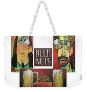 Beer Nuts Weekender Tote Bag