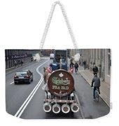 Beer Wagon Weekender Tote Bag