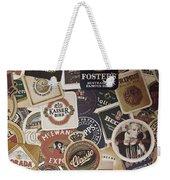 Beers Of The World Weekender Tote Bag