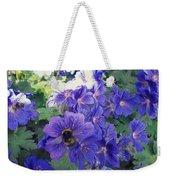 Bees And Flowers Weekender Tote Bag