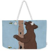 Bees And The Bear Weekender Tote Bag