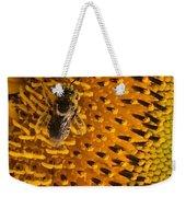 Bee's Sunflower Weekender Tote Bag