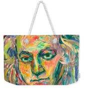 Beethoven Energy  Weekender Tote Bag