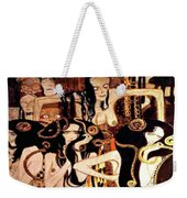 Beethoven Frieze  The Hostile Forces The Three Gorgones Sickness, Madness, Death Weekender Tote Bag