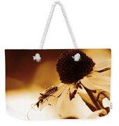 Beetle And Black Eyed Susan Weekender Tote Bag