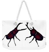 Beetle And Stag Beetle Weekender Tote Bag