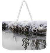 Before It Ices Over Weekender Tote Bag