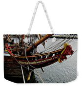Before Setting Sail Weekender Tote Bag by Douglas Barnard