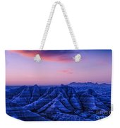 Before Sunrise, Badlands National Park Weekender Tote Bag