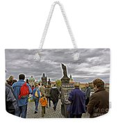 Before The Rain On The Charles Bridge Weekender Tote Bag