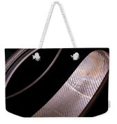 Before The Rubber Meets The Road Weekender Tote Bag by Rona Black