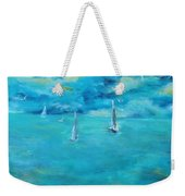 Before The Storm Weekender Tote Bag by Chaline Ouellet