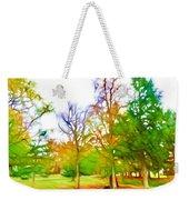 Beginning Of Autumn Weekender Tote Bag