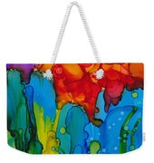 Beginnings Abstract Weekender Tote Bag