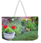 Begonia And Rose Weekender Tote Bag