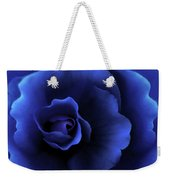 Begonia Floral Dark Secrets Weekender Tote Bag