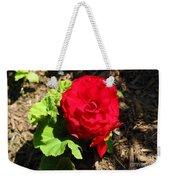 Begonia Flower - Red Weekender Tote Bag